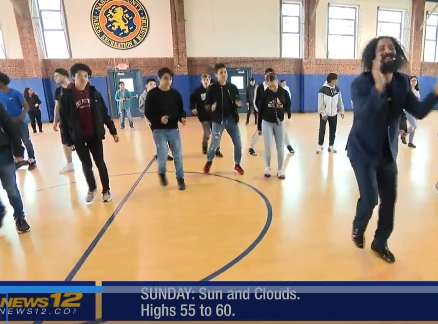 WHS Students Learn Latin Dancing on News 12