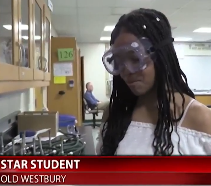 Alexa B. Recognized as Star Student on Fios 1