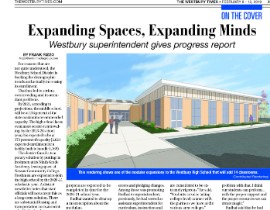 Westbury Times Article on District Expansion Project